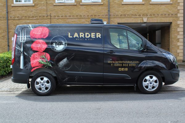 LARDER VAN WRAP BY CREATIVE FX BROMLEY 1