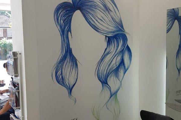 Techniques Beauty Salon Interior Signage By Creative Fx 1