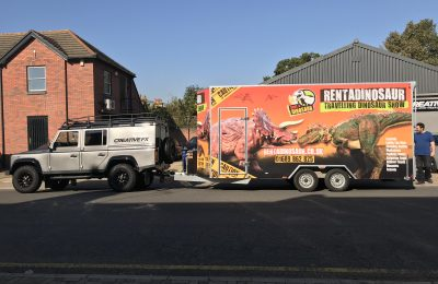 VEHICLE LIVERY – RENT A DINOSAUR
