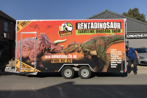 Full Trailer Wrap Installed By Creative Fx In Bromley 2