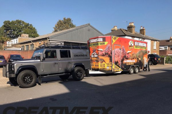 Full Trailer Wrap Installed By Creative Fx In Bromley 5