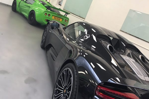 Porsche 918 Spyder Paint Protection Film 4