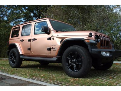FULL SATIN ROSE GOLD WRAP – JEEP WRANGLER