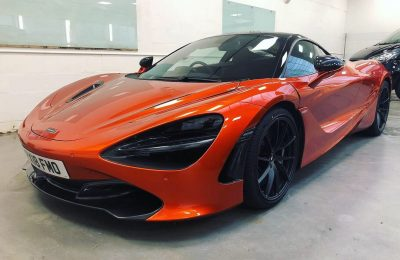 FULL XPEL PAINT PROTECTION FILM – MCLAREN 720S