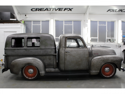 RUST EFFECT WRAP – CHEVROLET