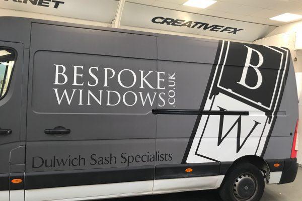 Bespoke Windows Van Wrap 2