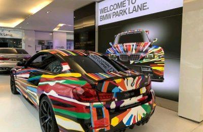 ART CAR STYLE WRAP – BMW M4 CS