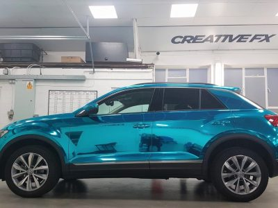 FULL CHROME WRAP – VOLKSWAGEN T-ROC