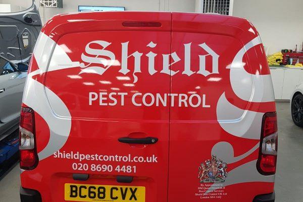 Pest Control Van Wrap Creative Fx 3