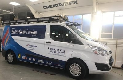 COMMERCIAL LIVERY – BOILERS SOUTH LONDON