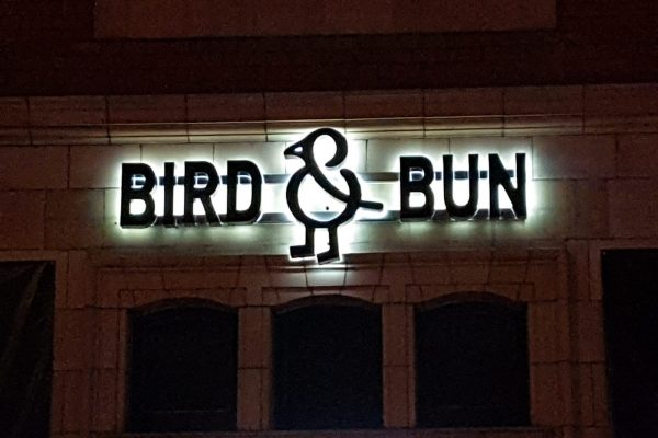 Bird And Bun Signage 1