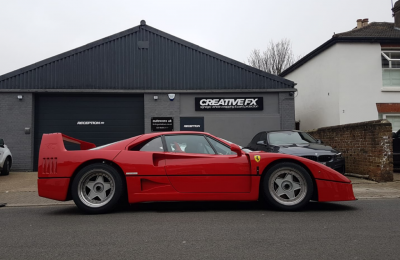XPEL COVERAGE – FERRARI F40