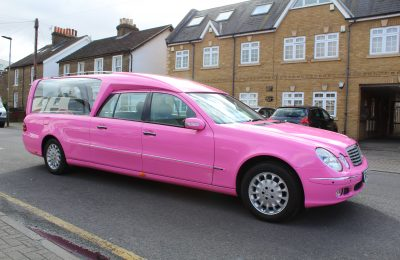 PINK FULL WRAP – HEARSE