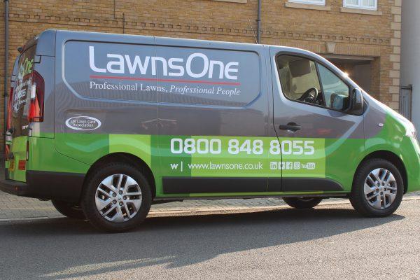 Lawns One Van Wrap By Creative Fx 2