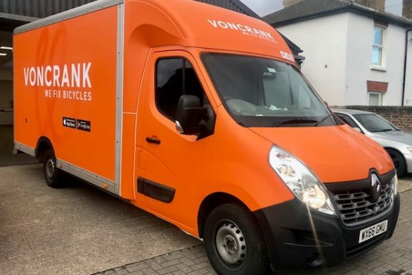 Voncrank Bicycle Full Van Wrap By Creative Fx 1