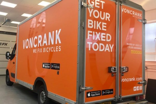 Voncrank Bicycle Full Van Wrap By Creative Fx 4