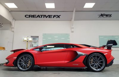 XPEL STEALTH COVERAGE – LAMBORGHINI SVJ