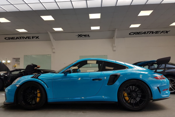 Porsche Gt3rs Full Paint Protection Film 3