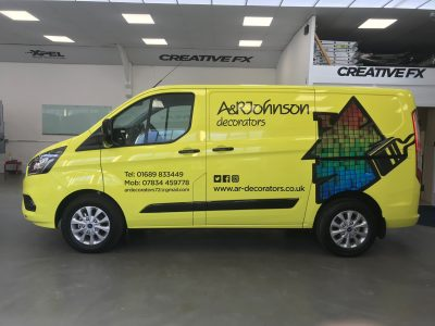 COMMERCIAL LIVERY & HALF & HALF WRAP – A & R JOHNSONS