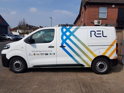 COMMERCIAL LIVERY  – REL BUILDING SERVICES
