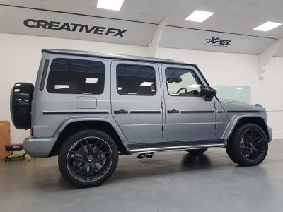 XPEL STEALTH COVERAGE – MERCEDES-BENZ AMG G CLASS
