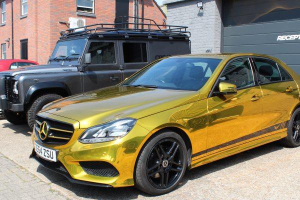 Gold Chrome E Class 1
