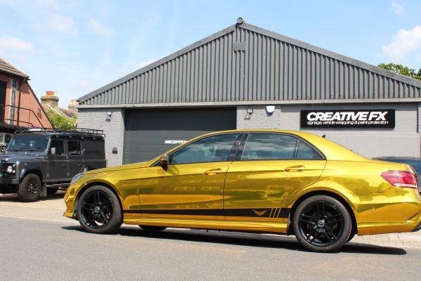 Gold Chrome E Class 2