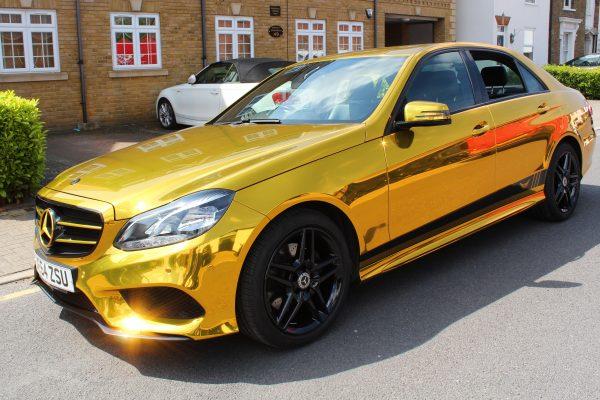 Gold Chrome E Class 4