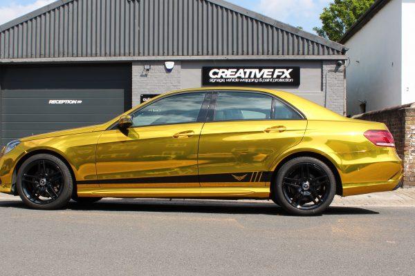 Gold Chrome E Class 5