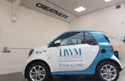 SMART CAR LIVERY – HWM SOLUTIONS