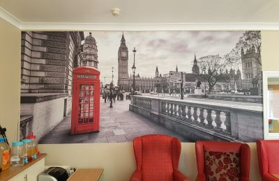 GRAPHIC WALL PRINTS – CARE HOME