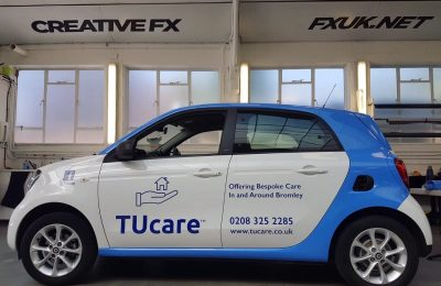 SMART CAR LIVERY – TUCARE