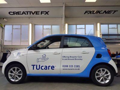 SMART CAR LIVERY – TUCARE