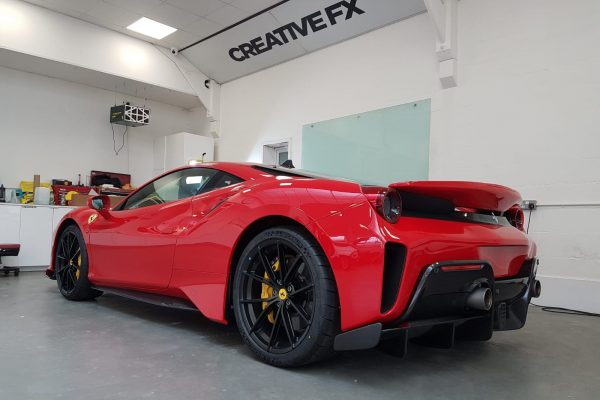 Ferrari Pista Paint Protection Film 2