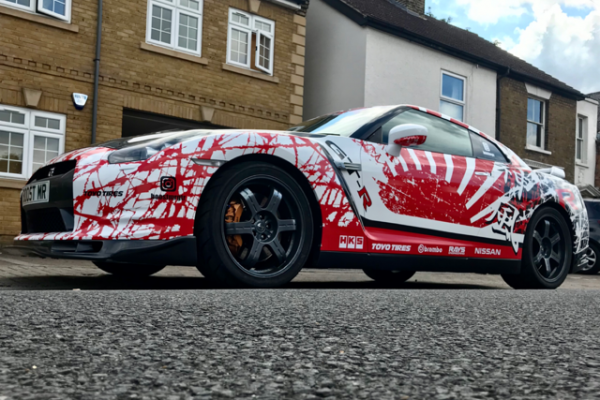 Nissan GTR Full Wrap 1