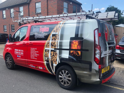 LONDON FIREPLACE SPECIALIST – GRAPHIC WRAP & LIVERY