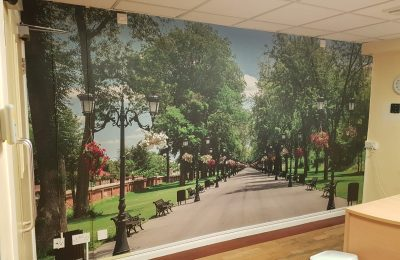 WALL GRAPHICS – MISSION CARE