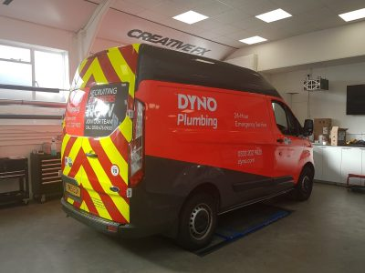 DYNO PLUMBING – VAN LIVERY / PARTIAL WRAP