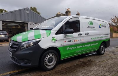 LITTERGRAM – VAN LIVERY / PARTIAL WRAP