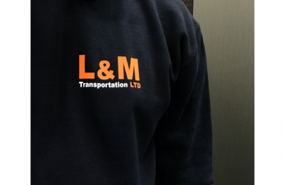 PRINTED WORKWEAR – L&M TRANSPORTATION