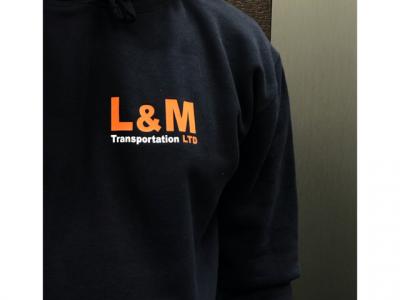 PRINTED WORKWEAR – L&M TRANSPORTATION