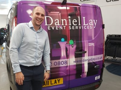 DANIEL LAY EVENTS – PARTIAL WRAP & LIVERY