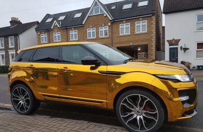 RANGE ROVER EVOQUE – CHROME WRAP