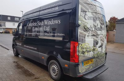 COMPLETE SASH WINDOWS – REAR WRAP