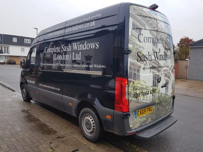 COMPLETE SASH WINDOWS – REAR WRAP