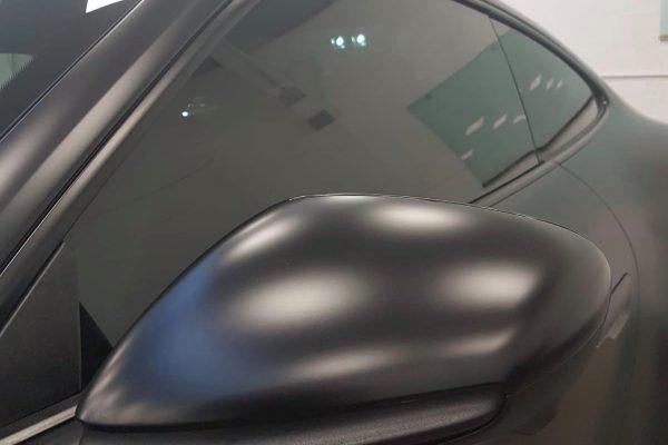 Porsche Satin Black 2