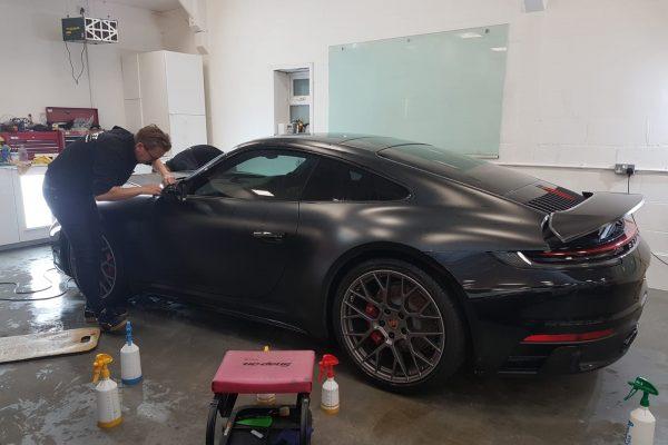 Porsche Satin Black 3