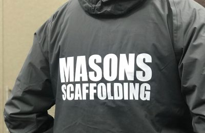 PRINTED WORKWEAR -MASONS SCAFFOLDING