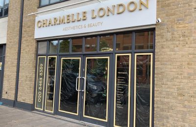 POWDER COATED FASCIA – CHARMELLE LONDON