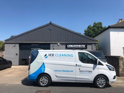 ICE CLEANING – VAN LIVERY